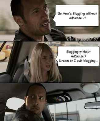 Blog senza AdSense