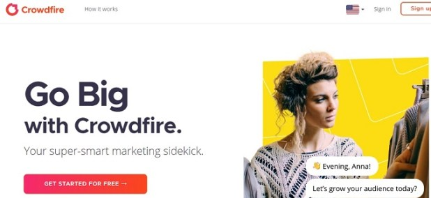Crowdfire Social Media Engagement App