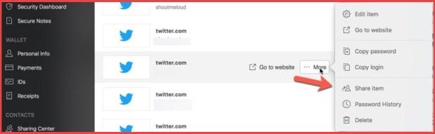 Password-sharing