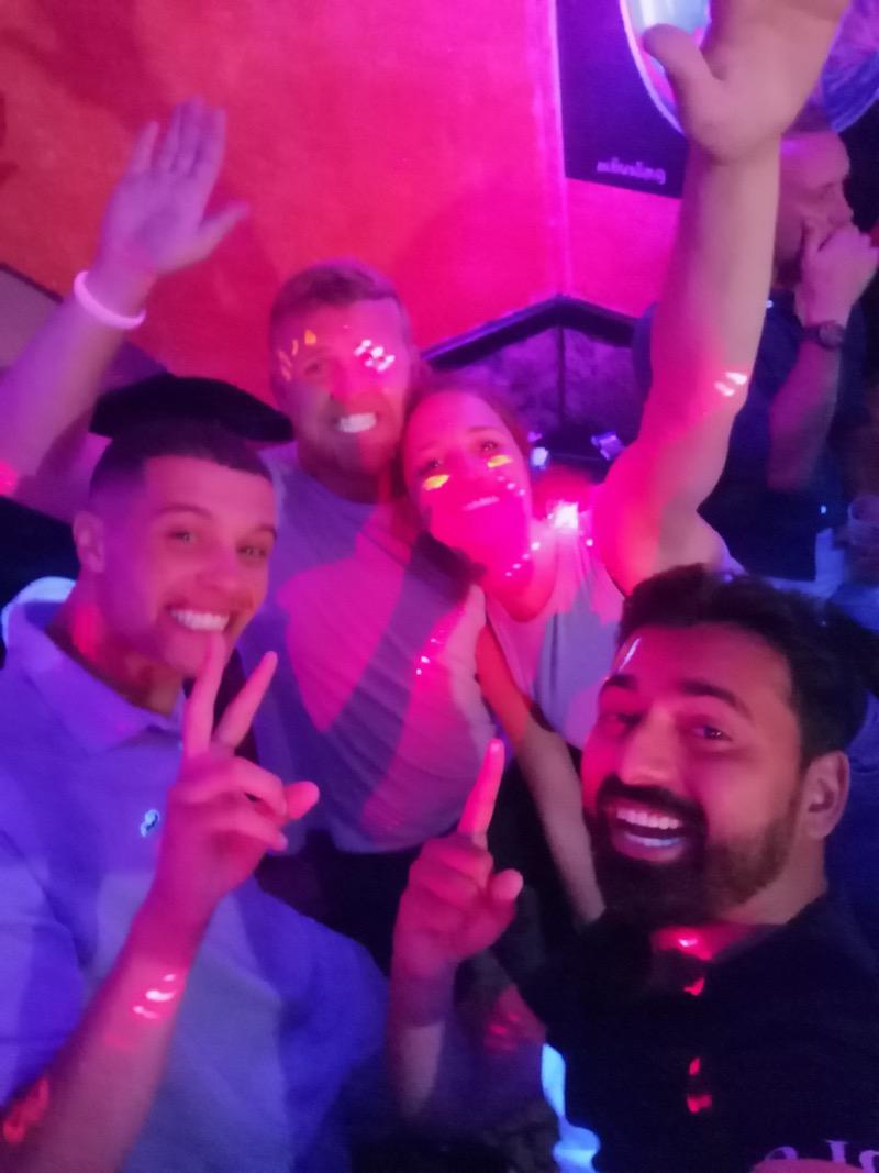 Partying in Albufiera