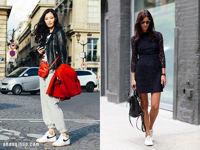 看時尚女生白布鞋穿搭 什么風格都游刃有余_手藝活網