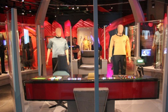 The actual props and apparel used on TOS.
