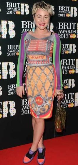 Jaime Winstone-Brit Awards 2013-showbizbites