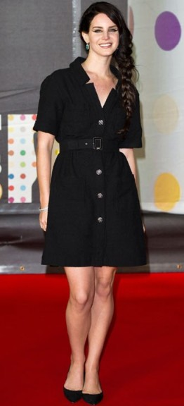 Lana Del Rey-Brit Awards 2013-showbizbites