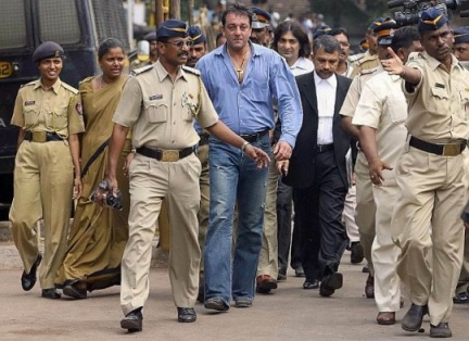 sanjay dutt arrested-showbizbites