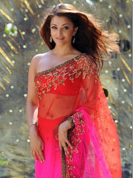 ashwariya in saree-showbizbites