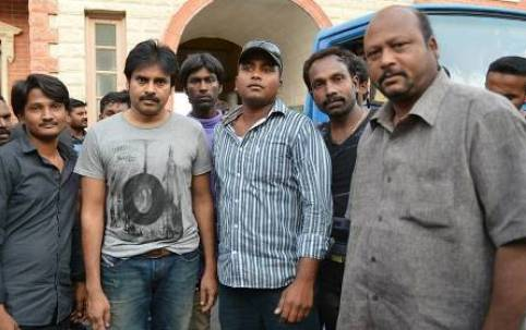 Pawan Kalyan Attarintiki Daredi Movie Latest Working Stills
