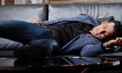 salman sleeping on KJo's set-showbizbites