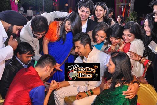 Ravi Dubey's Mehndi-showbizbites-01