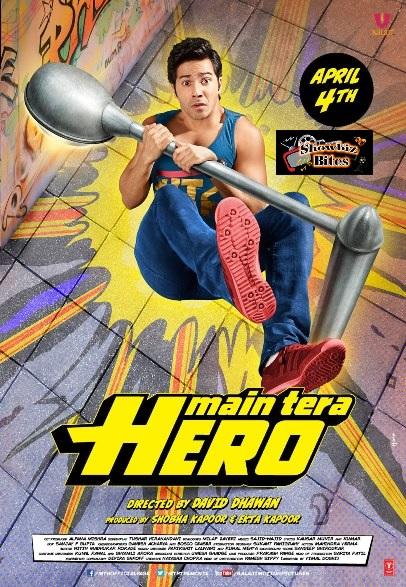 Main Tera Hero Poster-showbizbites