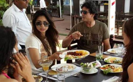 Armaan and Tanisha in Goa