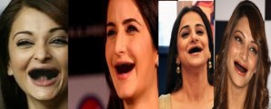 Funny Photos – Bollywood Actresses without Teeth, Really Rib-Tickling
