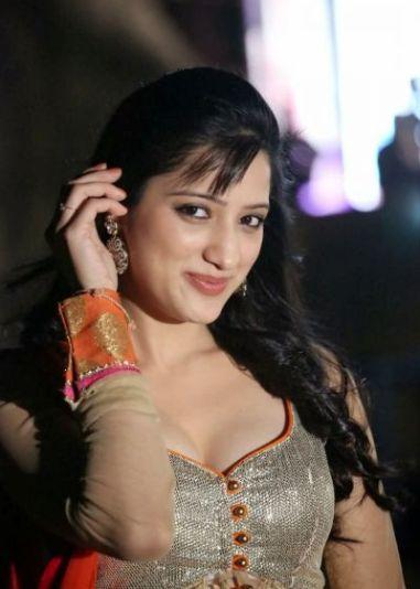 Richa Panai at Chandamama Kathalu Audio Launch
