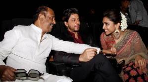 Pics: Shah Rukh Khan and Deepika Padukone Grace Kochadaiyaan Audio Release