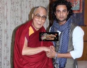 Himanshu Soni Meets Dalai Lama