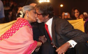 Photos: Amitabh Bachchan and Jaya Bachchan Lock Lips in Public