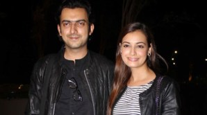 Dia Mirza Officially Engaged to Boyfriend at IIFA 2014