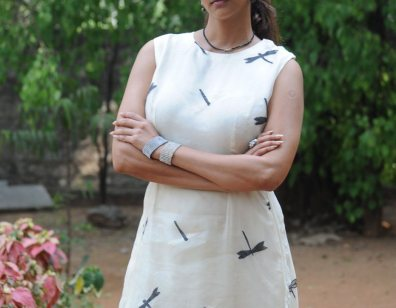Manchu Lakshmi at Chandamama Kathalu Success Meet-showbizbites-03