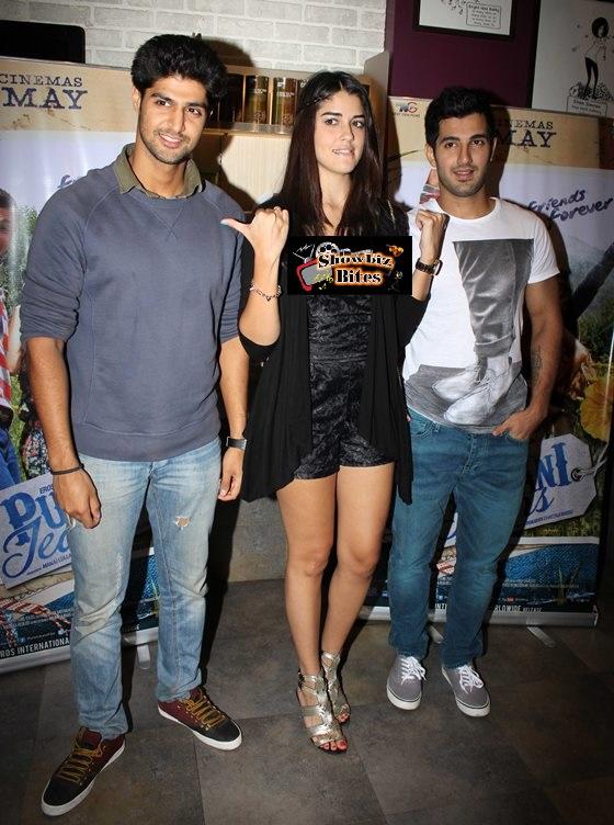 Tanuj Virwani, Aditya Seal and Izabelle Leite