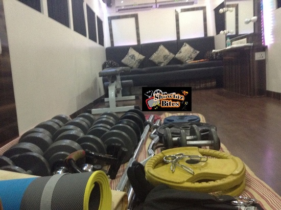 Gym Equipments inside the Vanity Van-showbizbites