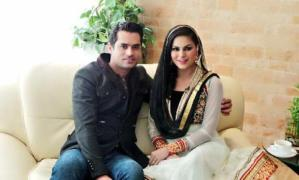 Pix: Veena Malik Gives Birth to a Baby Boy, Check Baby's Picture