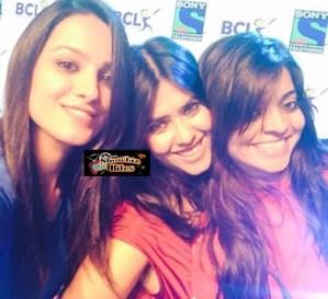 Ekta Kapoor, Aneeta Hasnandani and Nivedita Basu – A Picture Perfect Moment