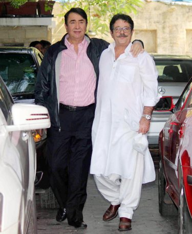 randhir with sashi' son kunal