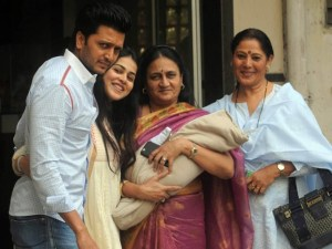 Check Out Riteish Deshmukh Baby Photos
