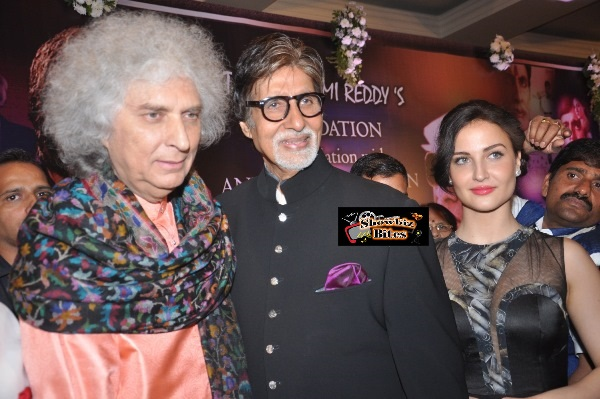 shiv Kumar Sharma amitabh bacchan and Elli Avram