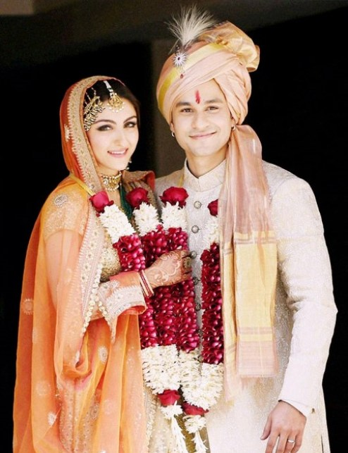 soha and kunal marriage picture
