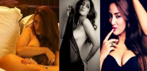 PIX: Pakistani Model-Actress Mathira Shows Deep Cleavage and Heavy Skin Show