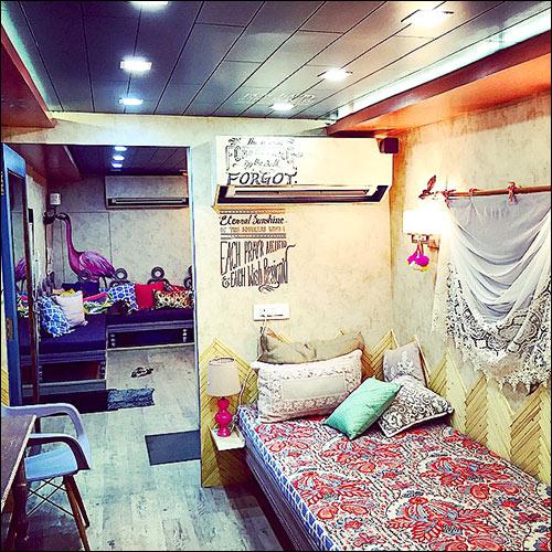 Alia Bhatt Vanity Van