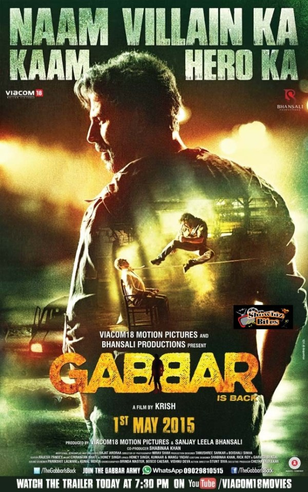 Gabbar Poster New