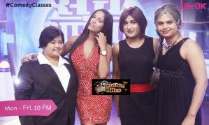 Hot Poonam Pandey Sizzles on Comedy Classes