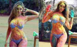 PHOTOS: Sofia Hayat's Delicious Mouth-Watering Holi Photoshoot in Bikini