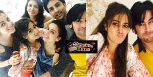 Photos: TV Actress Tina Dutta Had a Blast with Buddies at Her Home