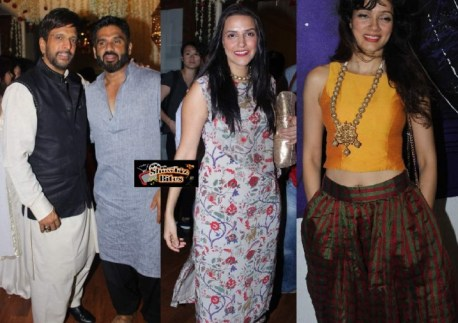 Javed Jaffrey's Eid Milan Party