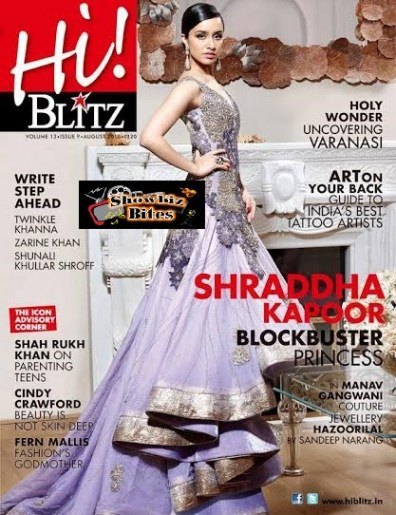 Shraddha Kapoor on Hi Blitz Cover