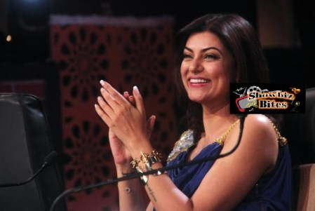 Sushmita sen on Comedy Superstars