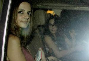 Preity Zinta and Sussanne Khan Spotted on a Dinner Date