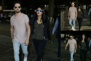 OMG! Shruti Hassan CAUGHT with Boyfriend at Mumbai Airport
