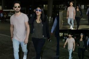 OMG! Shruti Hassan CAUGHT with Boyfriend at Mumbai Airport