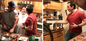 Wow! Saif Ali Khan and Ranbir Kapoor Cook Food While Kareena and Karishma Chill Out