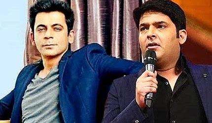 Kapil Sharma and Sunil Grover's fighting