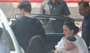 PHOTOS: Karan Johar Finally Takes His Babies Home