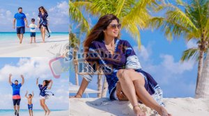 PHOTOS: Shilpa Shetty Flies Off to Maldives – Spotted Spending Quality Time with Family