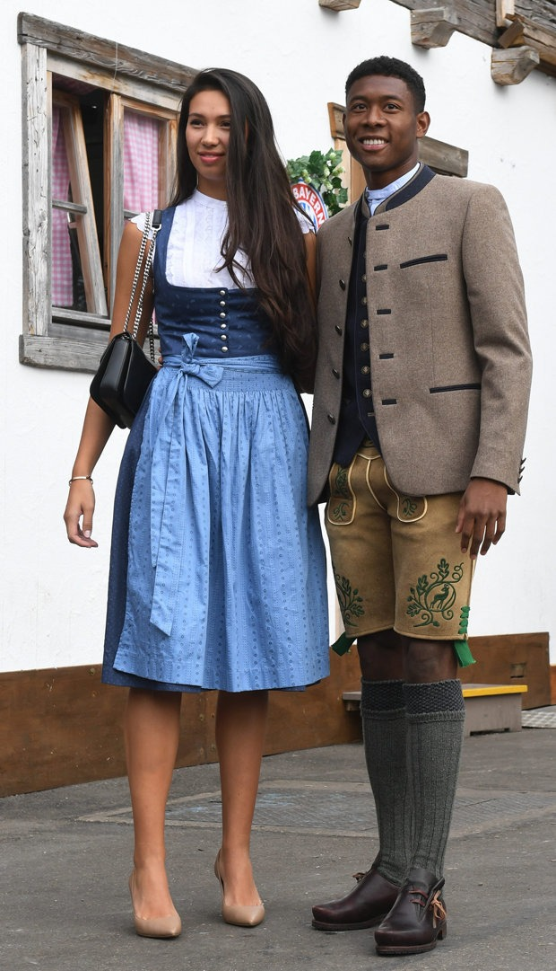 Oktoberfest 2018 David Alaba And His Girlfriend Shalimar