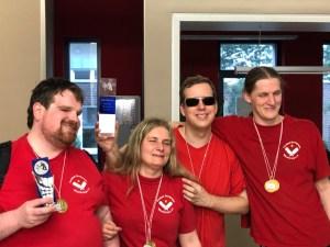 1. Platz Mannschaft - Team Marburg