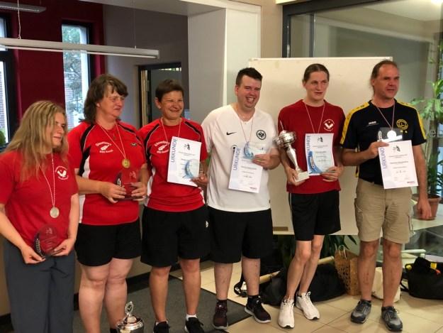 Hessische Meisterschaften im Showdown – Titelträger kommen aus Marburg und Kassel