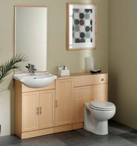 beech bathroom cabinet | Functionalities.net
